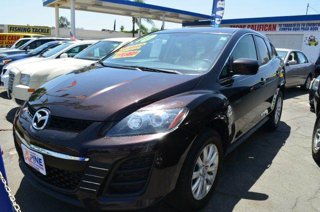 2010 MAZDA CX-7 I SV 4DR SUV purple 2-stage unlocking - remote abs - 4-wheel air filtration ai