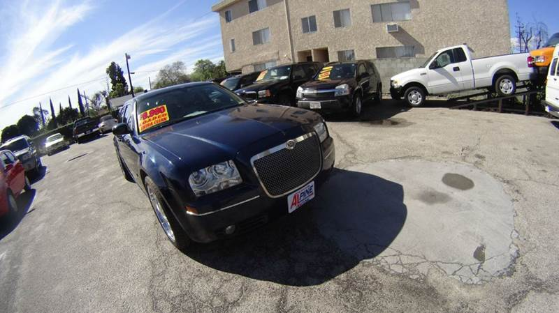 2005 CHRYSLER 300 TOURING 4DR SEDAN blue abs - 4-wheel center console - front console with stora
