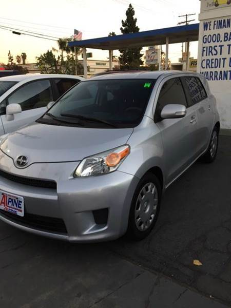 2008 SCION XD BASE 4DR HATCHBACK 4A silver abs - 4-wheel active head restraints - dual front an