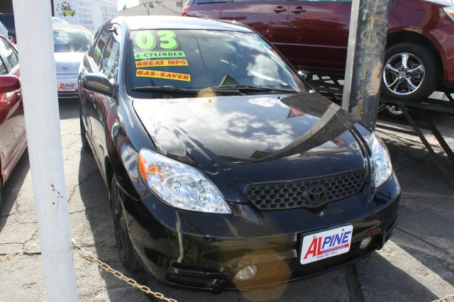 2003 TOYOTA MATRIX 2WD black air conditioningamfm radioanti-brake system non-abs  4-wheel abs