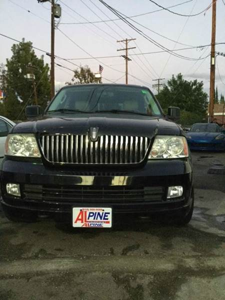 2005 LINCOLN NAVIGATOR LUXURY 4DR SUV black abs - 4-wheel adjustable pedals - power air suspens