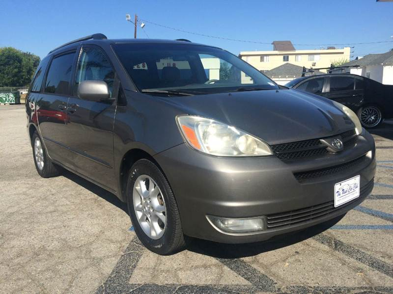 2005 TOYOTA SIENNA XLE LIMITED 7 PASSENGER 4DR MINI gray abs - 4-wheel anti-theft system - alarm