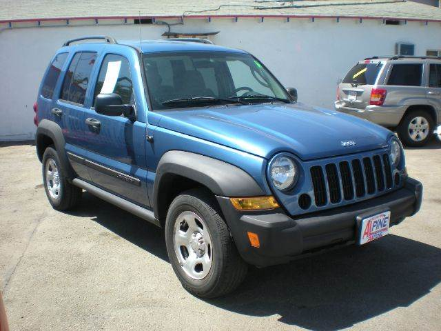 2005 JEEP LIBERTY SPORT 4DR SUV blue we have thousand of satisfied customer with rates starting a