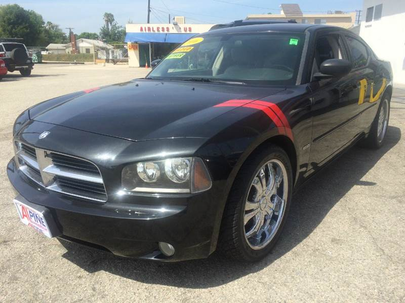 2006 DODGE CHARGER RT 4DR SEDAN black abs - 4-wheel adjustable pedals - power airbag deactivati