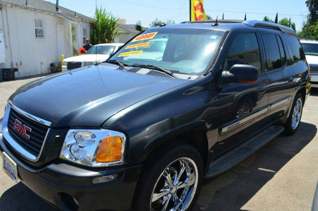 2004 GMC ENVOY XUV SLT 4DR SUV black abs - 4-wheel anti-theft system - alarm axle ratio - 373