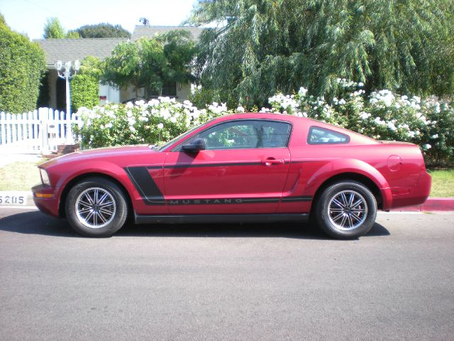 2006 FORD MUSTANG V6 STANDARD 2DR COUPE red antenna anti-theft system - engine immobilizer cente