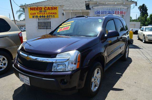 2006 CHEVROLET EQUINOX LT 4DR SUV purple abs - 4-wheel antenna type anti-theft system - alarm