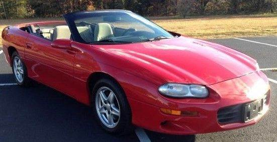 2001 CHEVROLET CAMARO CONVERTIBLE red we have thousand of satisfied customer with rates starting