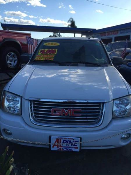 2006 GMC ENVOY SLE 4DR SUV abs - 4-wheel airbag deactivation - occupant sensing passenger antenn