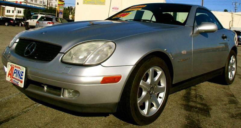 1998 mercedes benz slk slk230 2dr supercharged convertible for Mercedes benz van nuys inventory