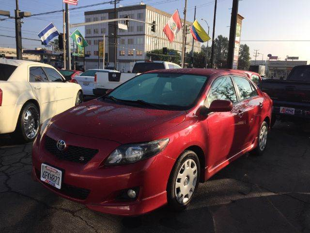 2007 TOYOTA COROLLA CE 4DR SEDAN 18L I4 4A we have thousand of satisfied customer with rates s