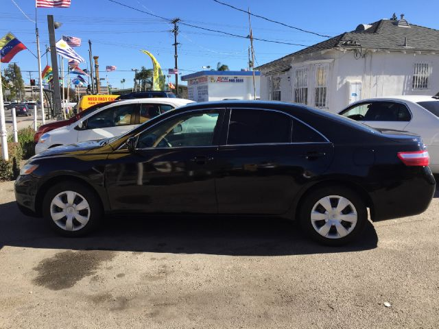 2007 TOYOTA CAMRY CE 4DR SEDAN 24L I4 5A black 2-stage unlocking abs - 4-wheel adjustable lum