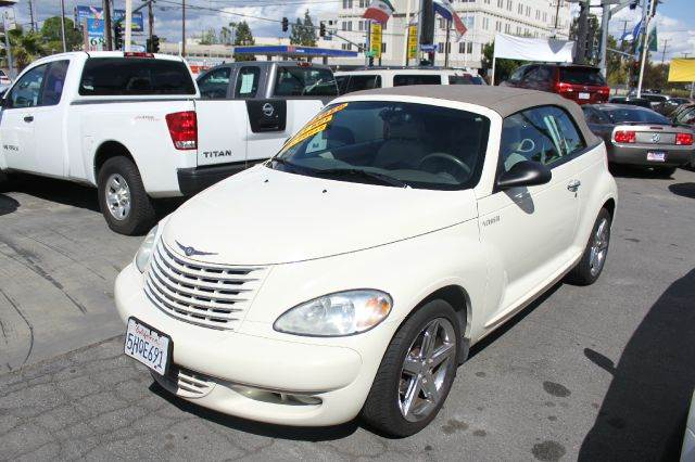 2005 CHRYSLER PT CRUISER GT 2DR CONVERTIBLE white 17 inch wheels abs - 4-wheel alloy wheels ant
