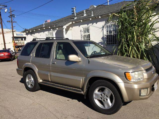2001 INFINITI QX4 BASE 4WD 4DR SUV we have thousand of satisfied customer with rates starting as