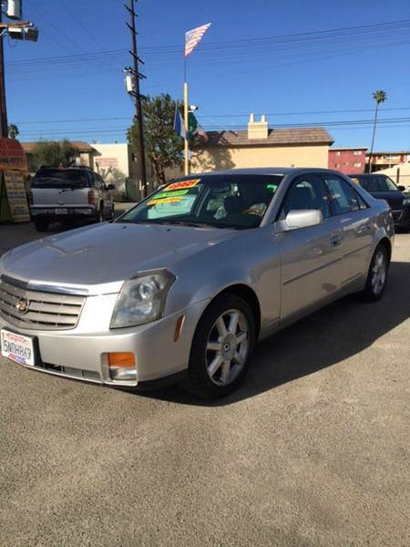 2005 CADILLAC CTS BASE 36 4DR SEDAN abs - 4-wheel battery saver center console - front console