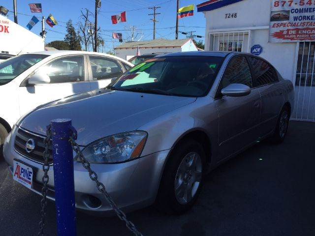 2004 NISSAN ALTIMA 25 4DR SEDAN we have thousand of satisfied customer with rates starting as low