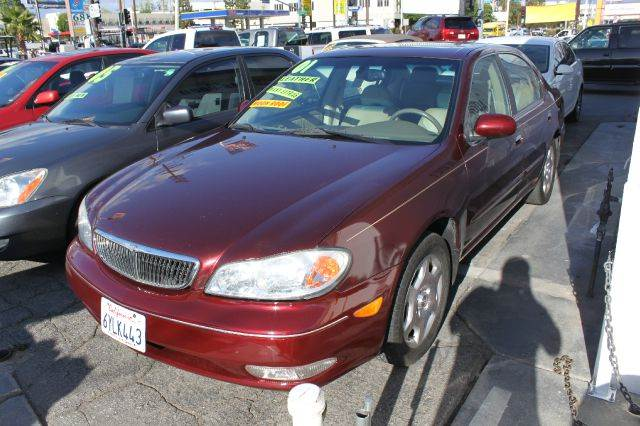 2001 INFINITI I30 BASE 4DR SEDAN purple abs - 4-wheel alloy wheels anti-theft system - alarm ca