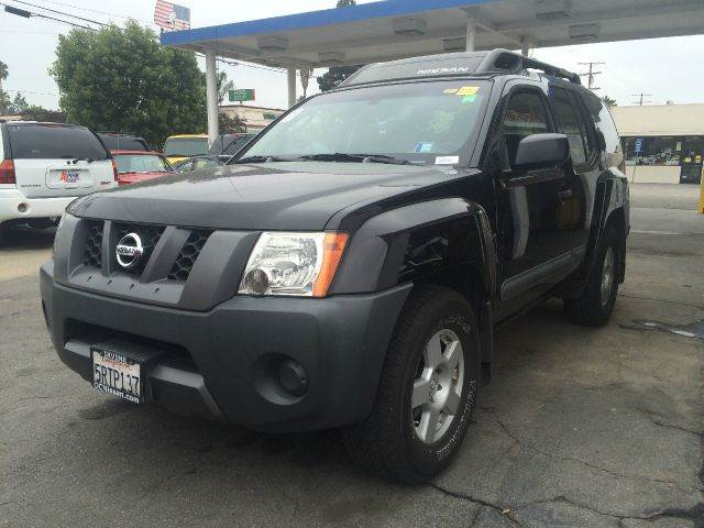 2005 NISSAN XTERRA SE 4DR SUV black abs - 4-wheel anti-theft system - alarm axle ratio - 294