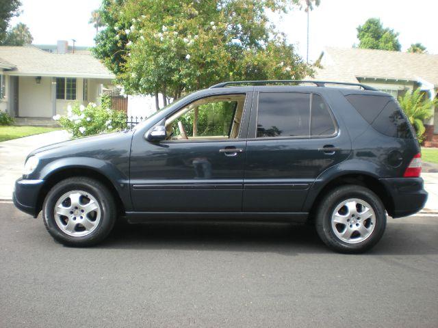 2003 MERCEDES-BENZ M-CLASS ML320 AWD 4MATIC 4DR SUV blue 17 inch wheels abs - 4-wheel alloy whee