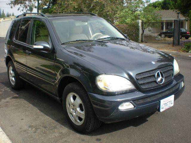 2003 MERCEDES-BENZ M-CLASS ML320 AWD 4MATIC 4DR SUV blue 17 inch wheels abs - 4-wheel alloy whe