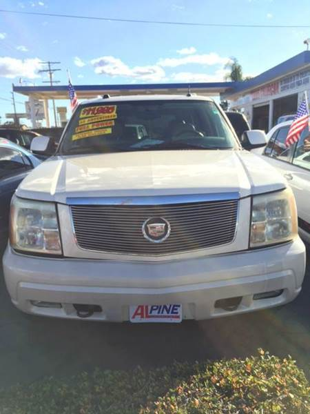 2005 CADILLAC ESCALADE BASE AWD 4DR SUV abs - 4-wheel active suspension adjustable pedals - powe