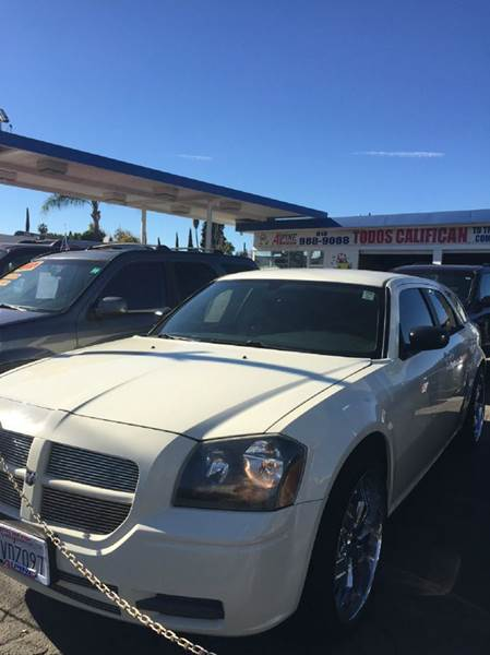 2005 DODGE MAGNUM SE 4DR WAGON white center console - front console with storage clock cruise c