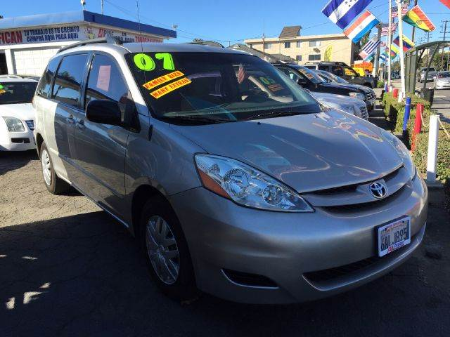 2007 TOYOTA SIENNA CE 7-PASSENGER 4DR MINIVAN we have thousand of satisfied customer with rates st