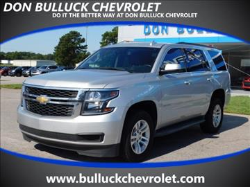 2015 Chevrolet Tahoe for sale in Rocky Mount NC