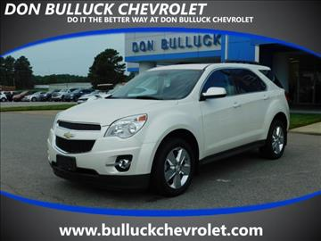2013 Chevrolet Equinox for sale in Rocky Mount, NC