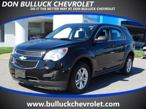 2012 Chevrolet Equinox for sale in Rocky Mount, NC