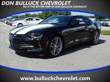 2017 Chevrolet Camaro for sale in Rocky Mount NC