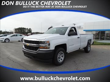 2017 Chevrolet Silverado 1500 for sale in Rocky Mount NC