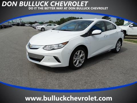2017 Chevrolet Volt for sale in Rocky Mount NC