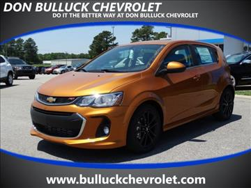 2017 Chevrolet Sonic for sale in Rocky Mount NC