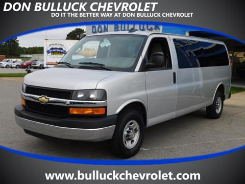 2016 Chevrolet Express Passenger for sale in Rocky Mount NC