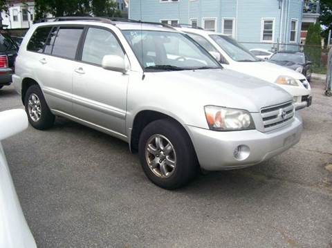 2005 Toyota Highlander For Sale Rhode Island Carsforsale