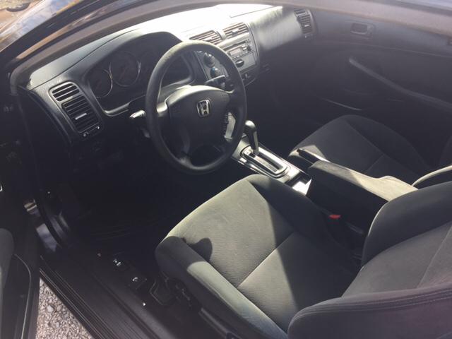 2003 Honda Civic LX 2dr Coupe - Bessemer AL