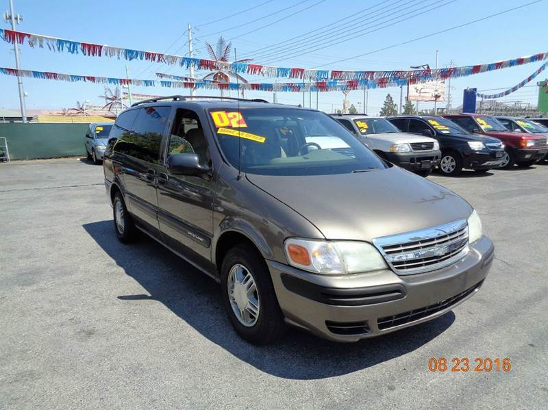 Used Cars in Las Vegas 2002 Chevrolet Venture