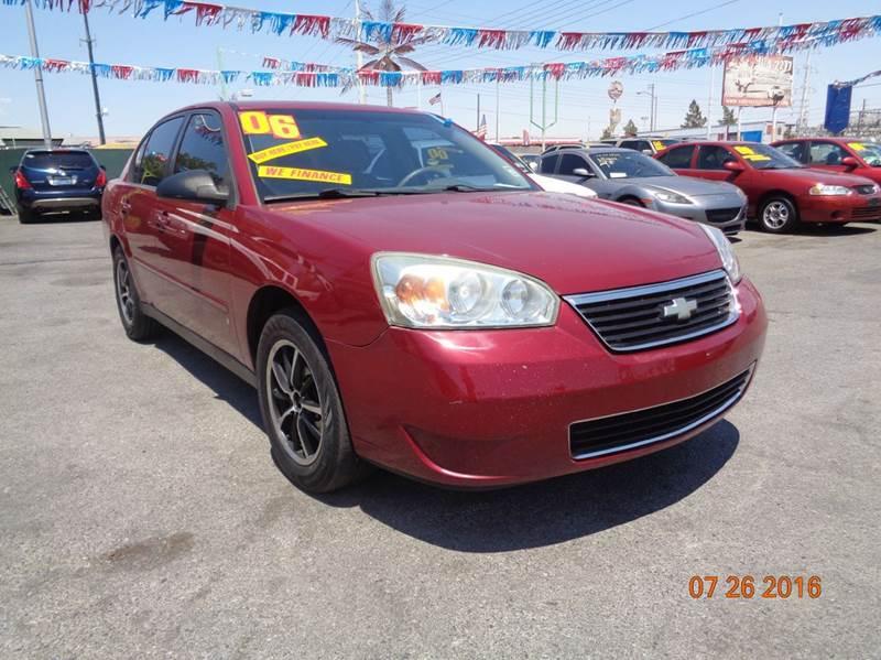 Used Cars in Las Vegas 2006 Chevrolet Malibu