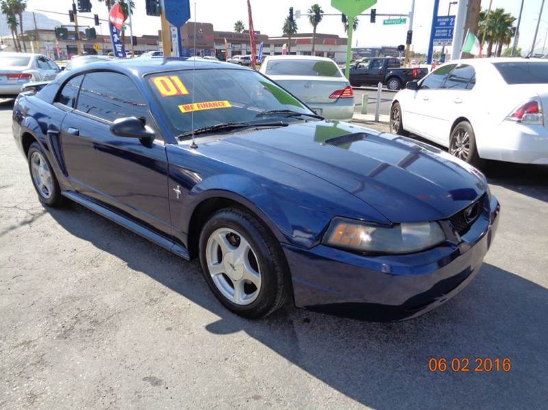 Used Cars in Las Vegas 2001 Ford Mustang
