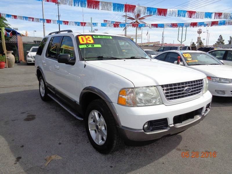 Used Cars in Las Vegas 2003 Ford Explorer