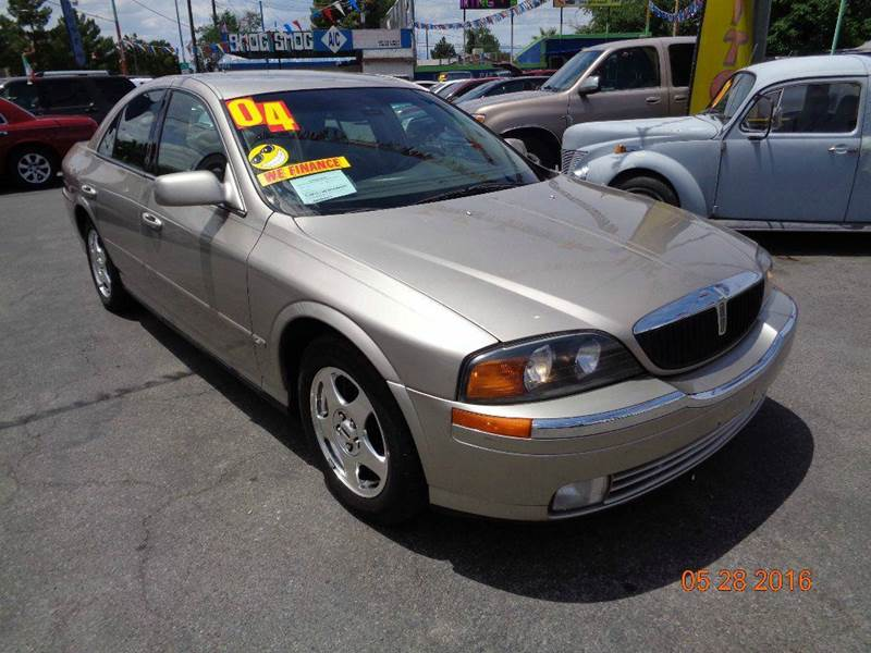 Used Cars in Las Vegas 2000 Lincoln LS