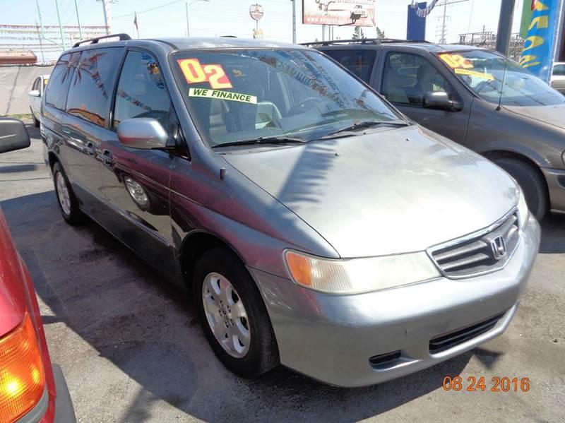 Used Cars in Las Vegas 2002 Honda Odyssey