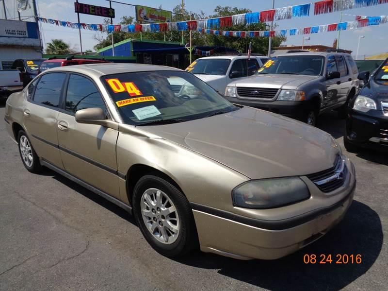 Used Cars in Las Vegas 2004 Chevrolet Impala