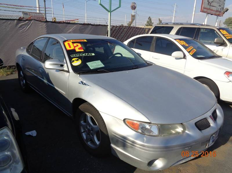 Used Cars in Las Vegas 2002 Pontiac Grand Prix