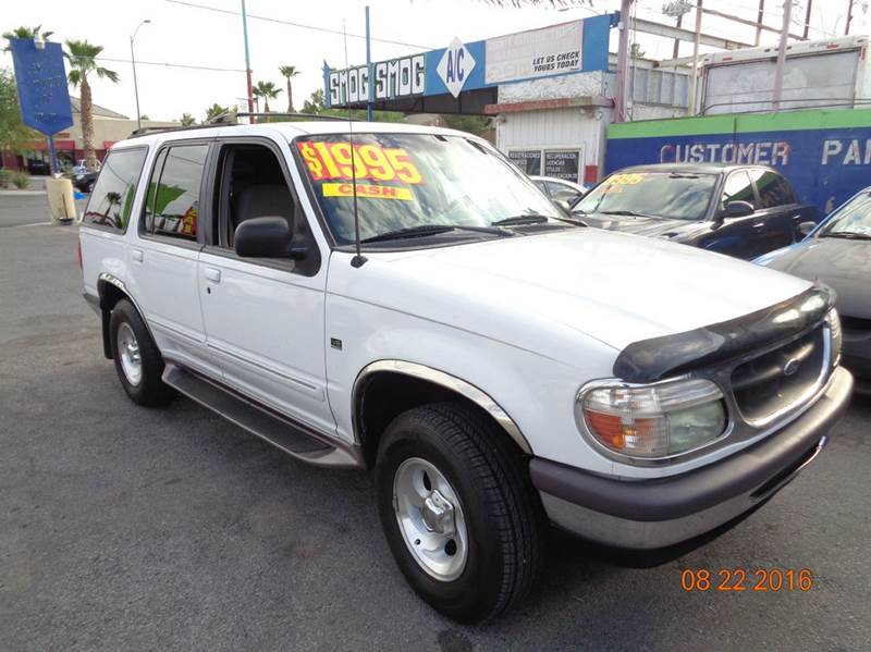 Used Cars in Las Vegas 1997 Ford Explorer