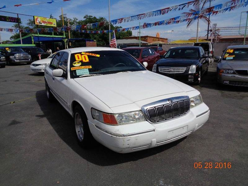 Used Cars in Las Vegas 2000 Mercury Grand Marquis