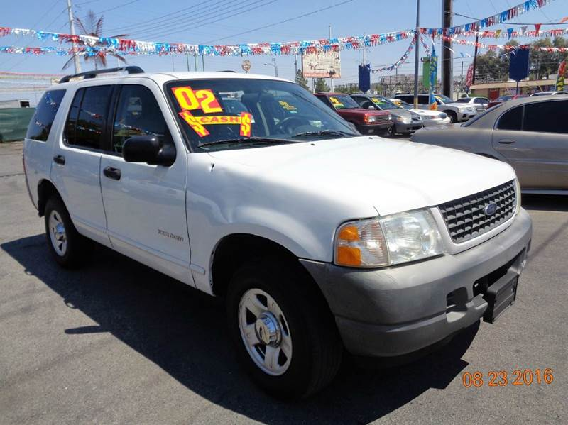 Used Cars in Las Vegas 2002 Ford Explorer