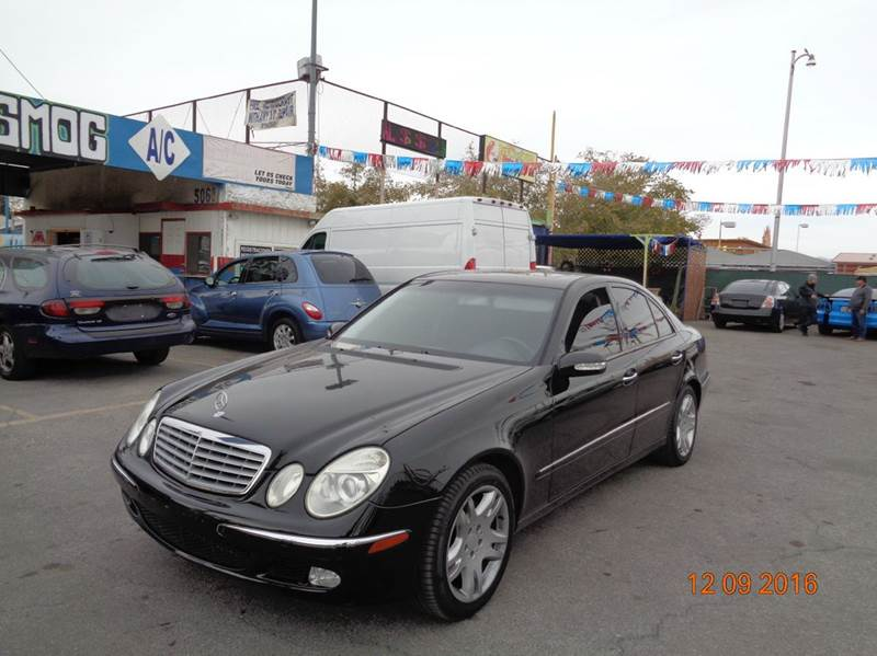 Used Cars in Las Vegas 2003 Mercedes Benz E-Class