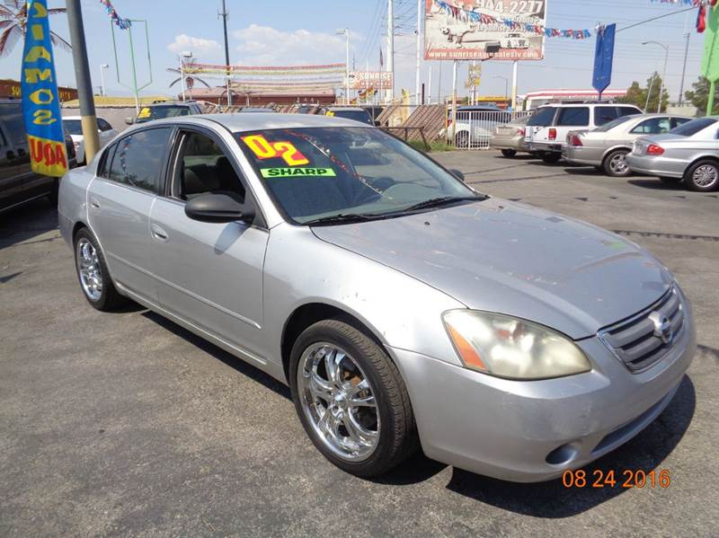 Used Cars in Las Vegas 2002 Nissan Altima